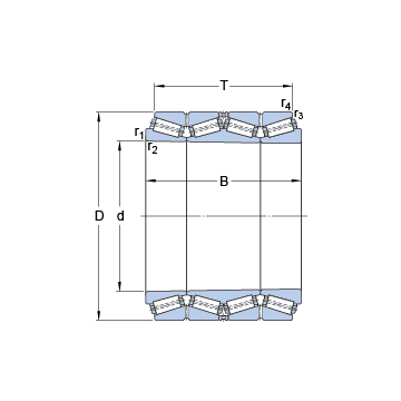 BT4B 334081/HA4 SKF Tapered Roller Bearings
