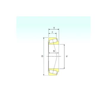 EE755285/755360 ISB Tapered Roller Bearings