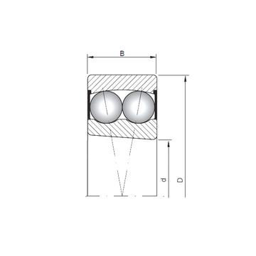 2209K-2RS ISO Self Aligning Ball Bearings #1 small image