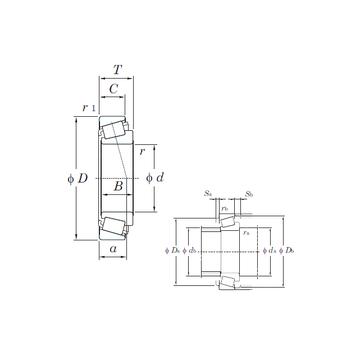 HM89446/HM89411 KOYO Tapered Roller Bearings #1 image