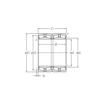 T-E-M231649D/M231610/M231610D NTN Tapered Roller Bearings