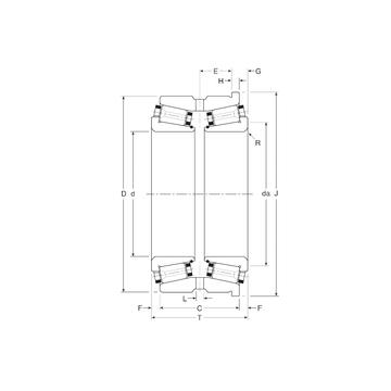 130070/130127H Gamet Tapered Roller Bearings