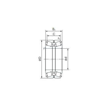 110KBE03 NACHI Tapered Roller Bearings #1 small image