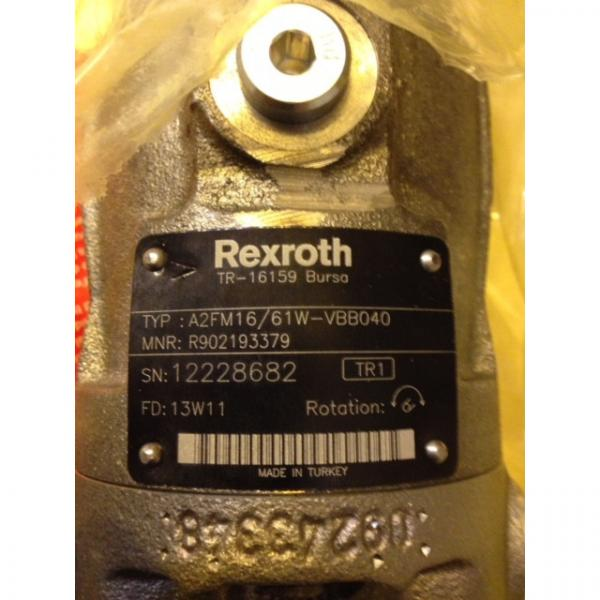 R902193379 A2FM16/61W-VBB040 REXROTH AXIAL-PISTON MOTOR #1 image