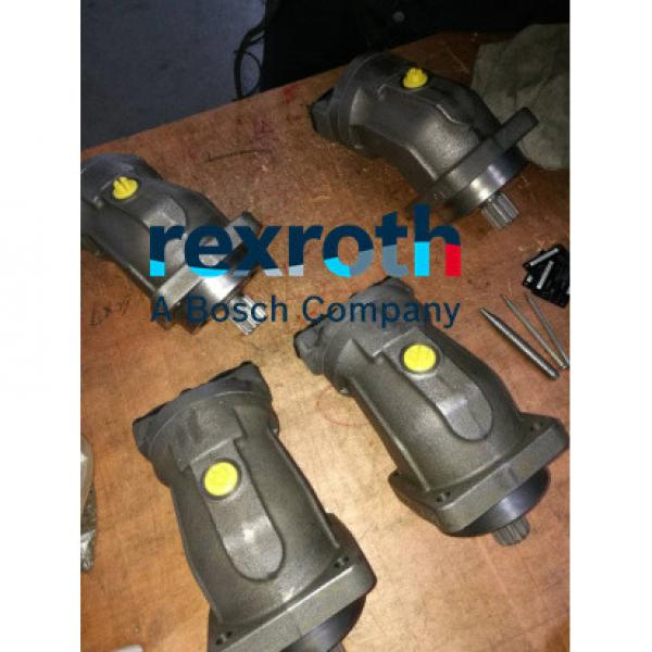 R902137736 A2FM107/61W-VZB010 REXROTH  AXIAL-PISTON MOTOR #3 image