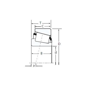 HM515749/HM515716 Timken Tapered Roller Bearings #1 image