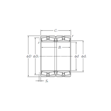 E-LM742749D/LM742714/LM742714D NTN Tapered Roller Bearings #1 image