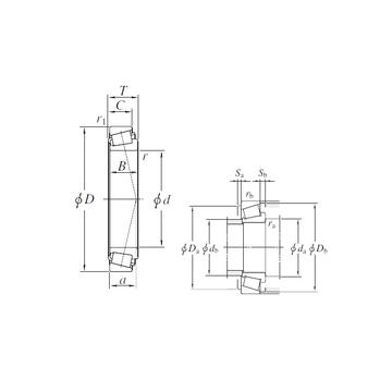 HM231149/HM231110 KOYO Tapered Roller Bearings #1 image