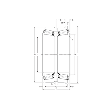 133075/133127H Gamet Tapered Roller Bearings #1 image